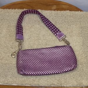 The Sak Handbag Purse Shoulder Bag Purple